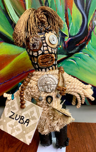 ZUBA- Handmade Voodoo Doll - 318 Art and Garden