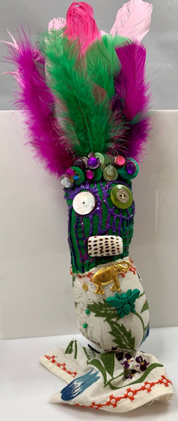 Small Handmade Voodoo Doll - 318 Art and Garden