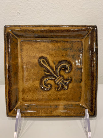 Small Tray with Fleur de Lis - 318 Art and Garden