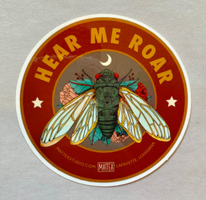 Cicada Sticker - 318 Art and Garden