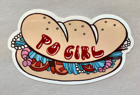 Po' Girl Sticker - 318 Art and Garden