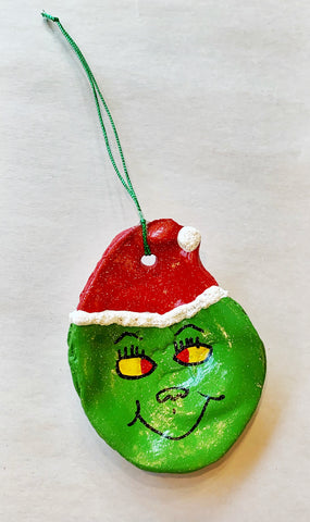 Grinch Oyster Ornament - 318 Art and Garden