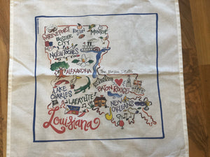 Louisiana Kitchen Towel - 318 Art and Garden