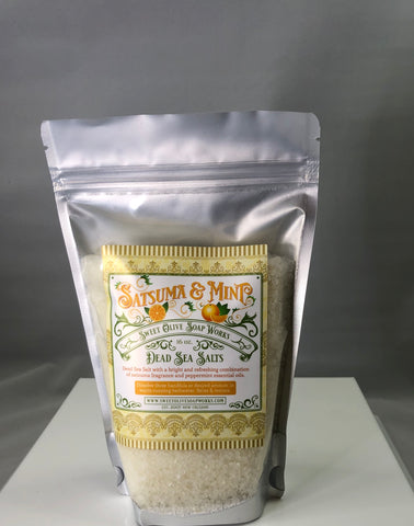 Dead Sea Salt Bath Salts - 318 Art and Garden