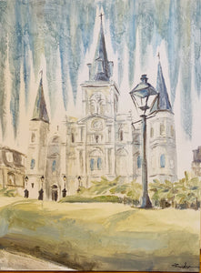 """Cathedral"" 30X40 - 318 Art and Garden"