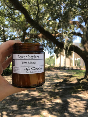 Mad Darling Candles-LOVE IN CITY PARK - MOSS & MUSK