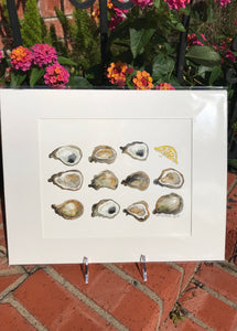 """A Dozen-ish Oysters"" - 318 Art and Garden"