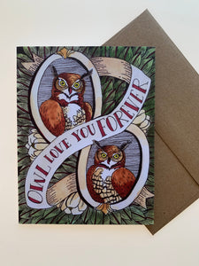 """Owl Love You Forever"" Card"