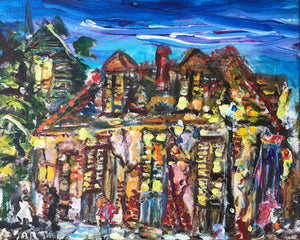 """Old Blacksmith Shop"" 16X20 - 318 Art and Garden"