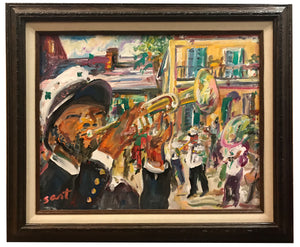 """New Orleans Street Band"" - 318 Art and Garden"