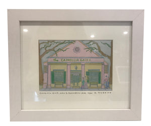 """The Camellia Grill"" 8x10 Framed Print - 318 Art and Garden"