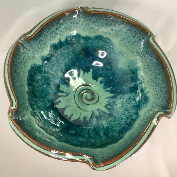 Small Scalloped Bowl - 318 Art and Garden