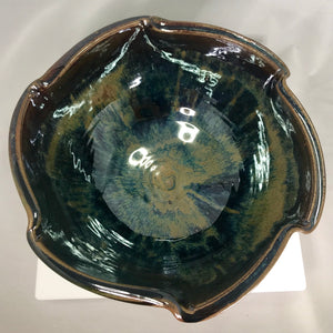 Large Scalloped Bowl - 318 Art and Garden