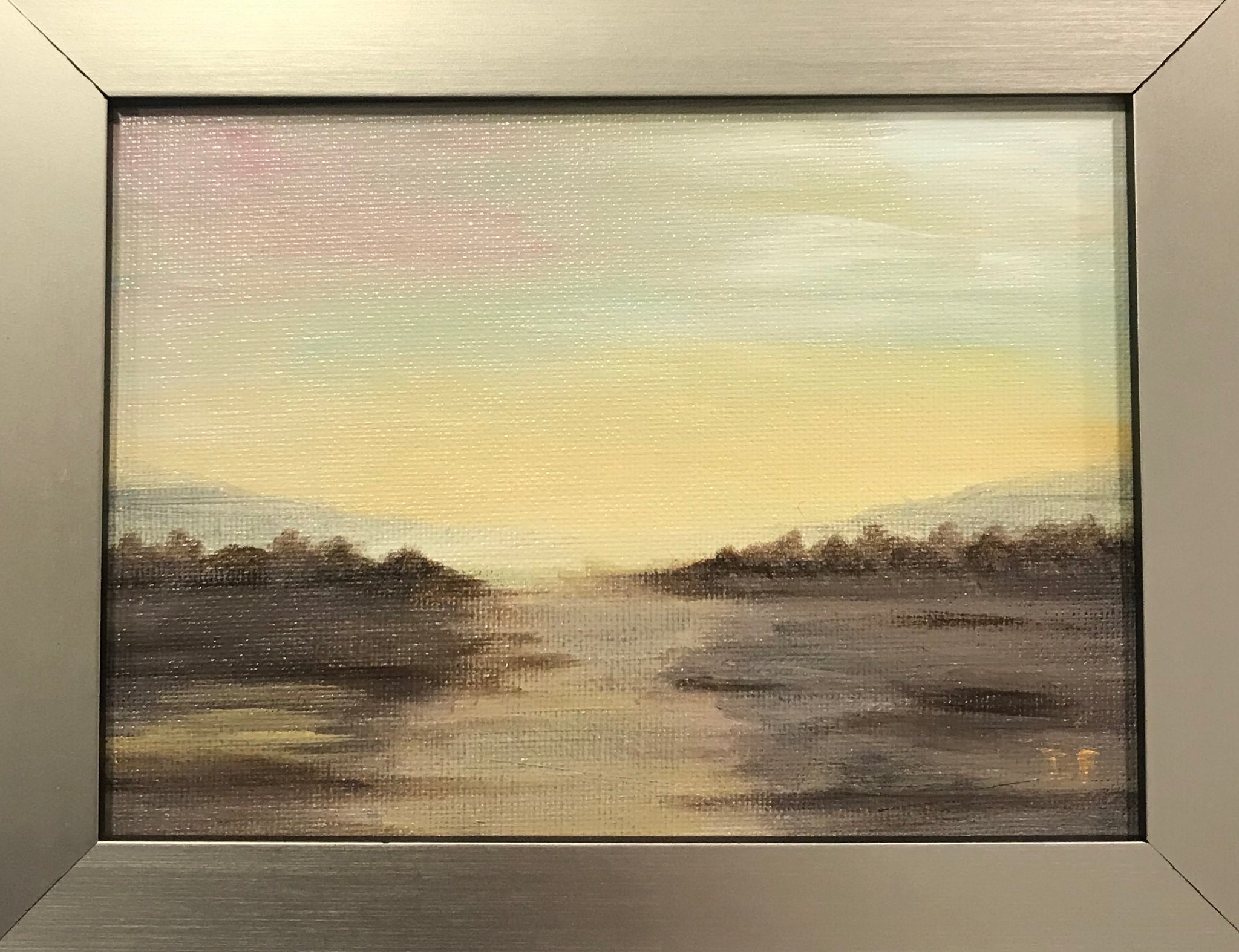 """The Golden Hour"" Framed to 5x7 - 318 Art and Garden"