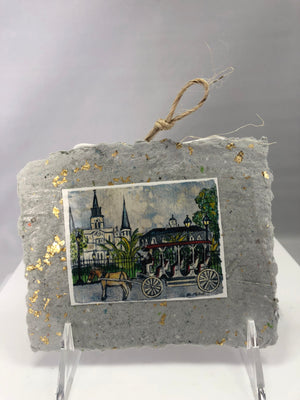 Horse and Buggy Ornament