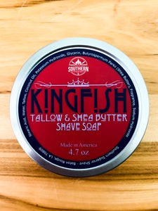 Kingfish Shave Soap