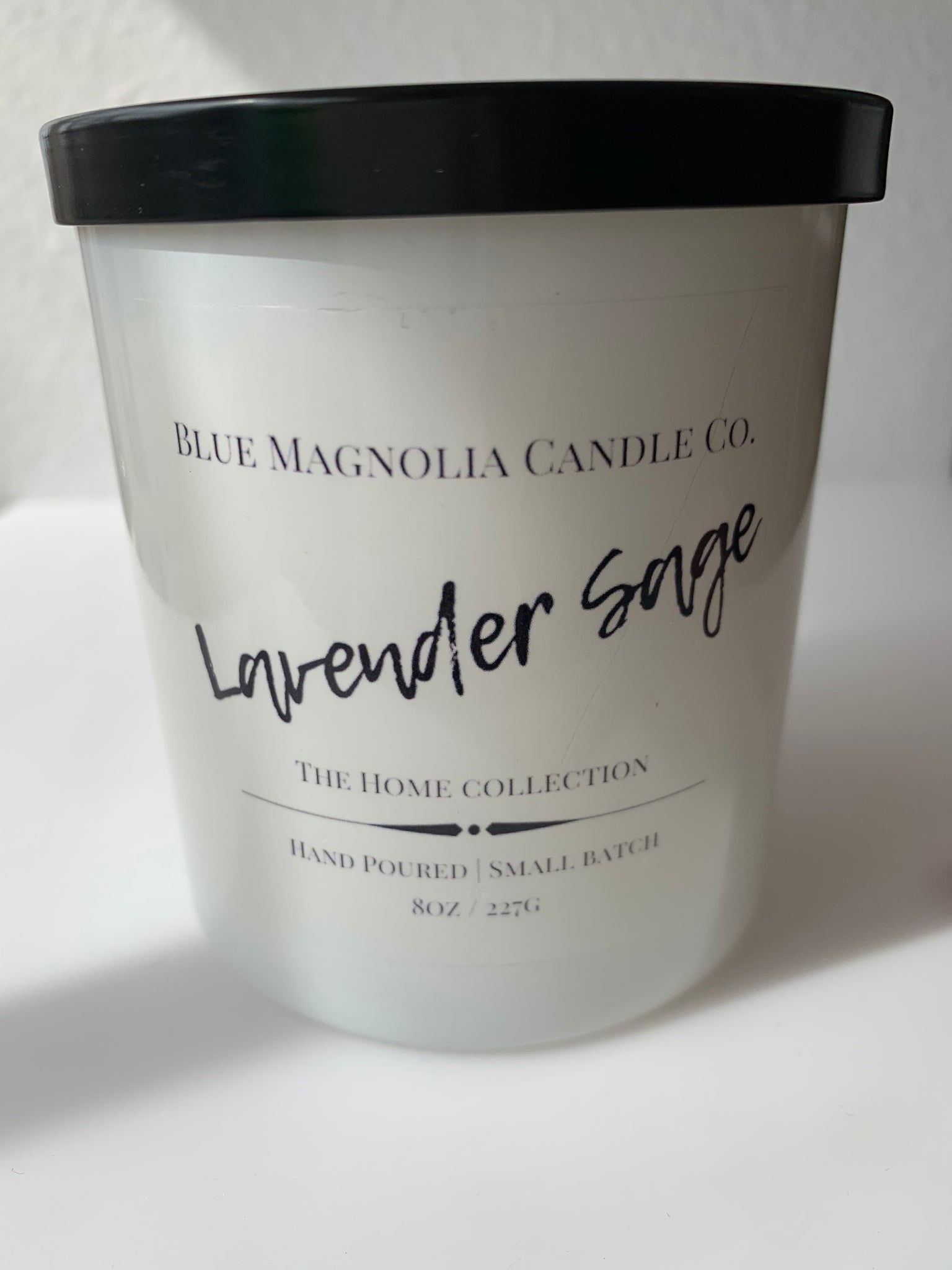 Lavender Sage Woodwick Candle - 318 Art and Garden