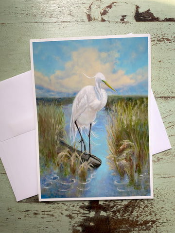 """Louisiana Marsh Hunter"" Card"