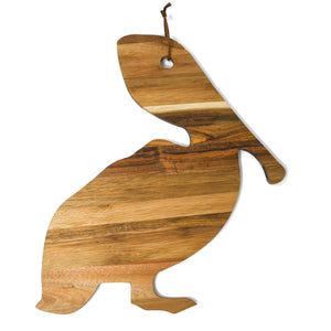 Acadia Wood Pelican Cutting and Serving Board - 318 Art and Garden