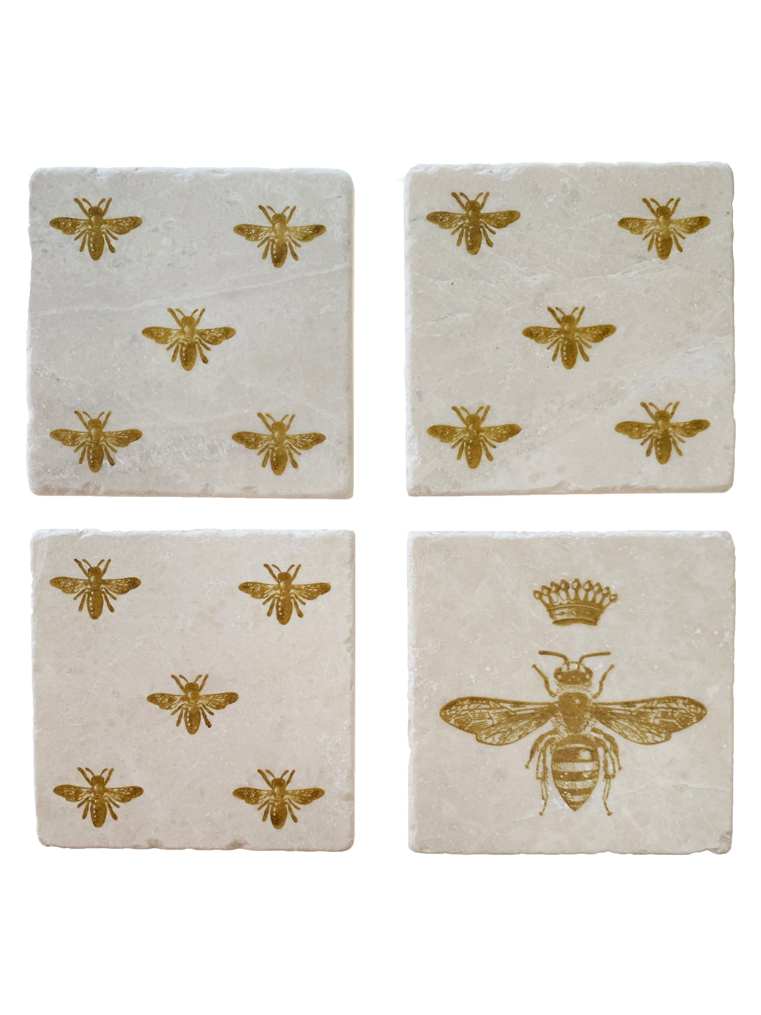 Queen Bee Coaster Set