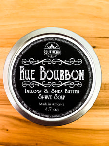 Rue Bourbon Shave Soap