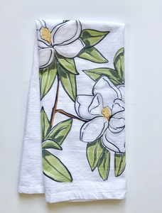 Magnolia Towel - 318 Art and Garden