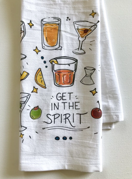 Get in the Spirit Towel - 318 Art and Garden