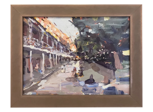 """Jackson Square from St. Ann Street"" - 318 Art and Garden"