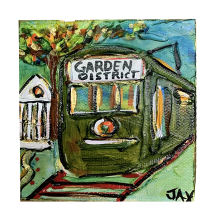 Mini Paintings - 318 Art and Garden