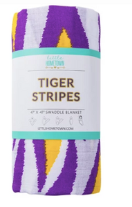 Tiger Striped Swaddle Blanket - 318 Art and Garden
