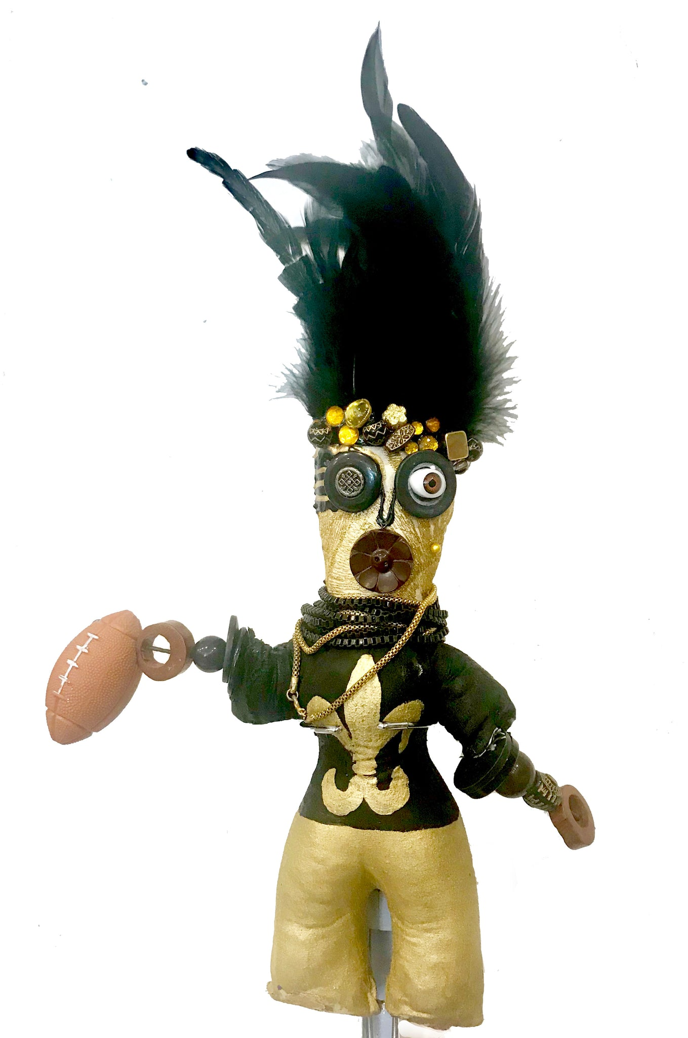 Small Saints Player Voodoo Doll - 318 Art and Garden