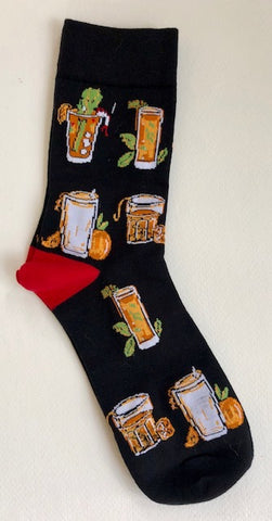 New Orleans Themed Socks - 318 Art and Garden