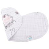 Southern Belle 2-in-1 Burp Cloth and Bib