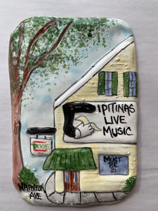 Tipitina's Plaque - 318 Art and Garden