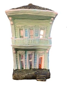 Two Story Shotgun House - 318 Art and Garden