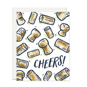 Cheers-Greeting Card - 318 Art and Garden