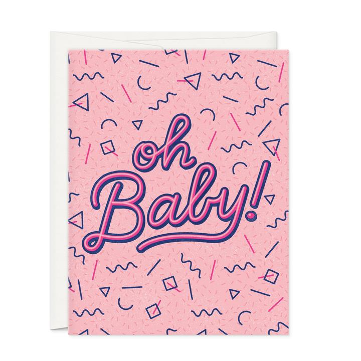 Oh Baby-Greeting Card - 318 Art and Garden