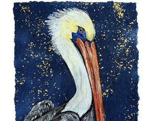 """Brown Pelican"" 16X20 Matted Print"