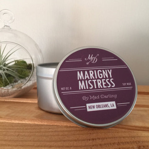 Marigny Mistress Candle Tin - 318 Art and Garden