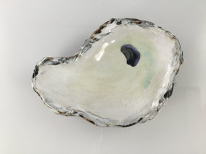 "Oyster ""Beauty"" Spoon Rest - 318 Art and Garden"