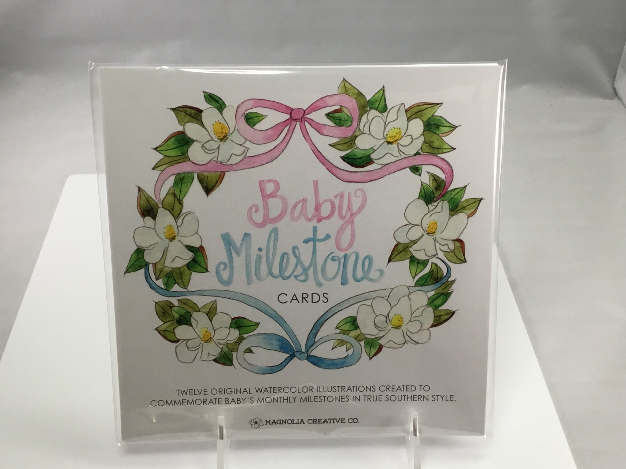 Baby Milestone Cards - 318 Art and Garden