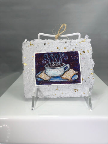 Coffee and Beignets Ornament - 318 Art and Garden