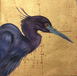 """Tricolored Heron"" - 318 Art and Garden"