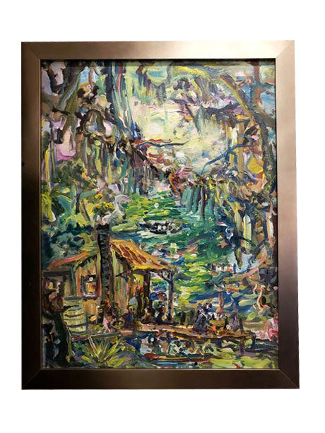 """Swamp Gathering"" - 318 Art and Garden"