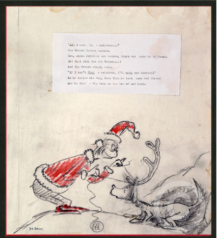 ALL I NEED IS A REINDEER... by Dr. Seuss - AKA Theodor Seuss Geisel