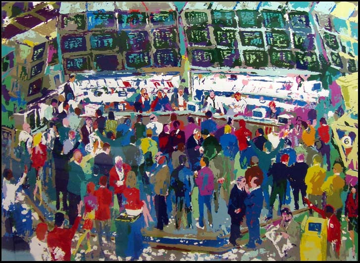 """Chicago Options""  by LeRoy Neiman 251/450"