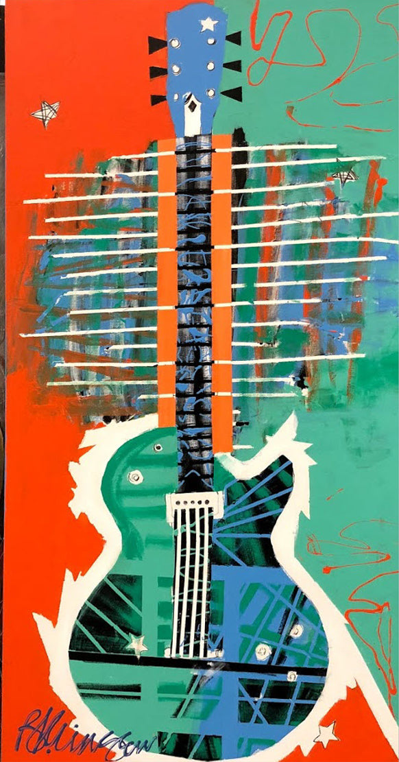 """Fancy Guitar"" - Brad Kringen"