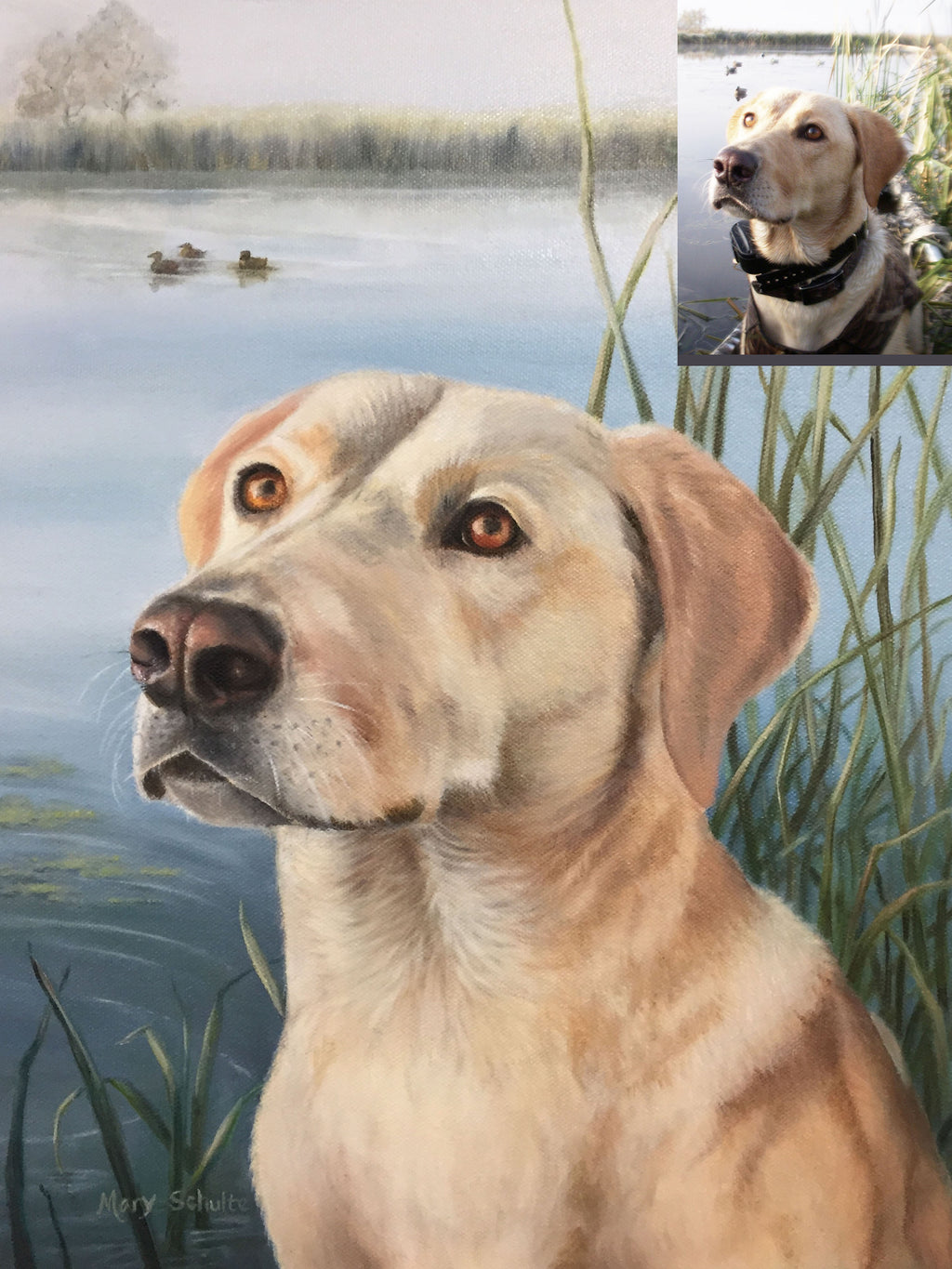 """Golden Lab"" Mary Schulte"