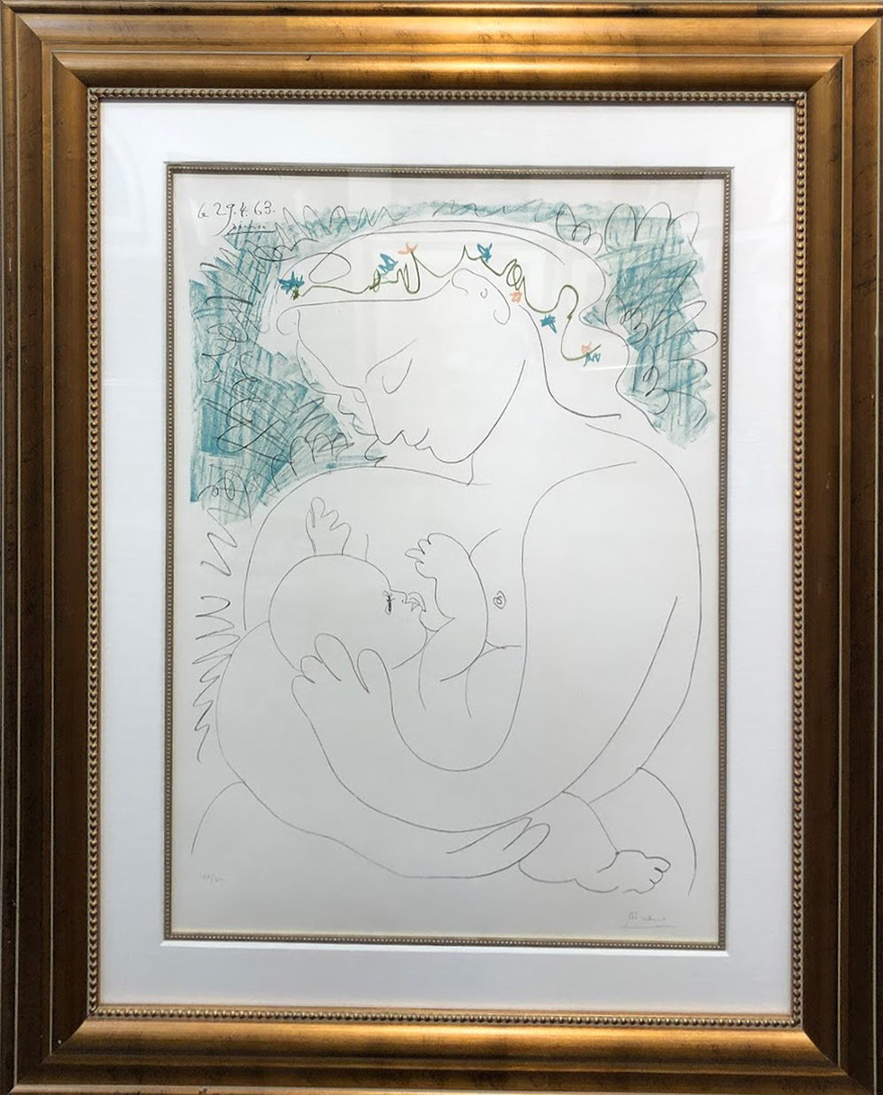 """Grand Maternity"" Pablo Picasso"