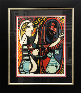 """Girl In the Mirror""  Pablo Picasso"